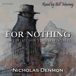 For Nothing audiobook cover image
