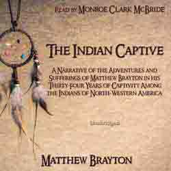 The Indian Captive audiobook cover image