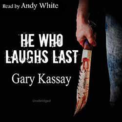 He Who Laughs Last audiobook cover image