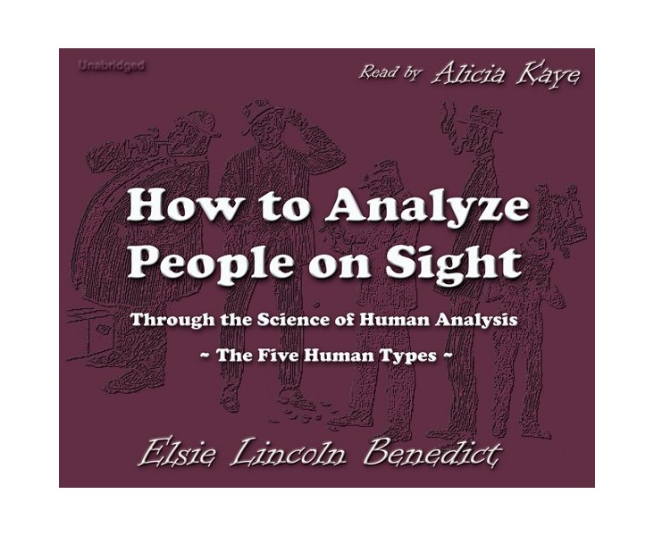 How to Analyze People on Sight - Cherrybook
