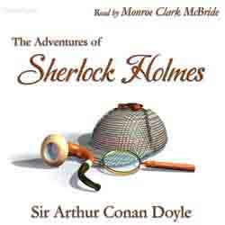 The Adventures of Sherlock Holmes  audiobook cover image