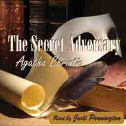 The Secret Adversary audiobook cover image
