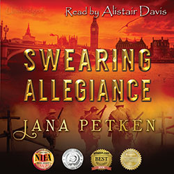 Swearing Allegiance audiobook cover image