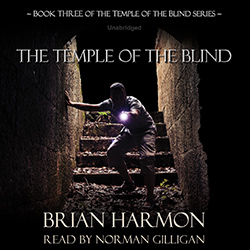 The Temple of the Blind audiobook cover image